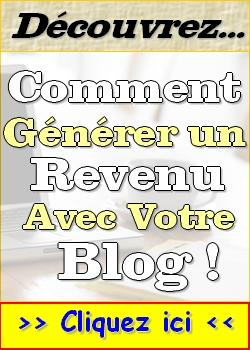 générer revenu blog